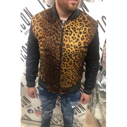 DENIM - Veste léopard