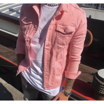 Veste up rose