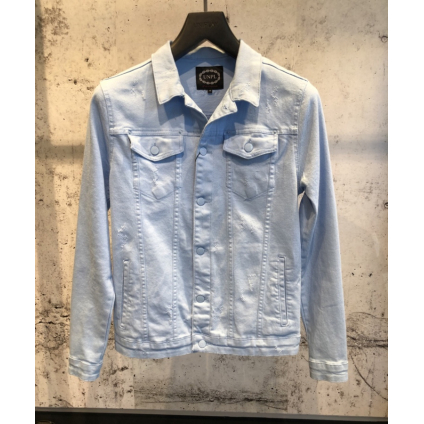 Veste jeans up bleu