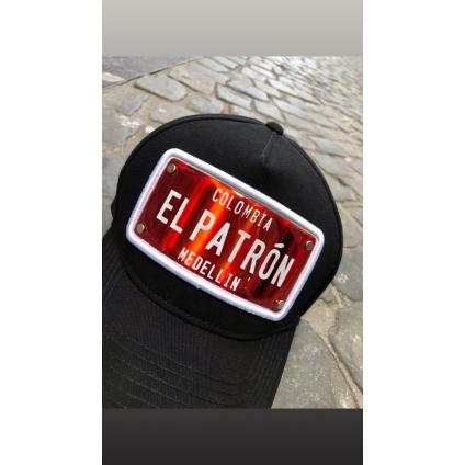 Casquette EL PATRON noir et...