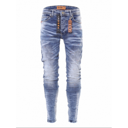 Jeans ICON 2 B bleu orange