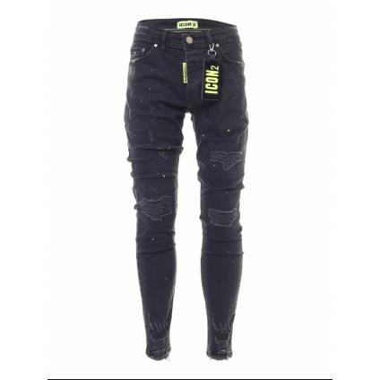 Jeans ICON 2 B noir/vert