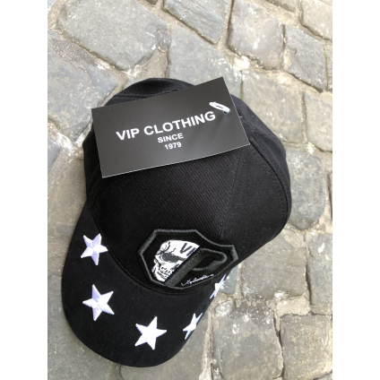 Casquette vip noir /BLANC