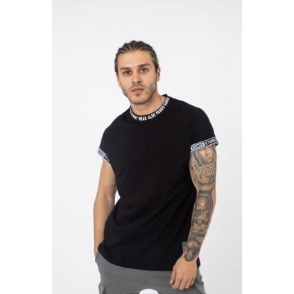 T shirt palm noir
