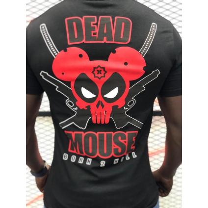T shirt DEAD noir